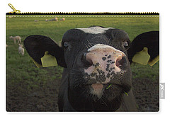 I Love Grass --said The Cow. Carry-all Pouch