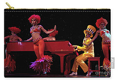 I Love Rock And Roll Music Carry-all Pouch by Bob Christopher