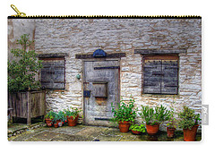 Carry-all Pouch featuring the photograph I Miss Home by Doc Braham