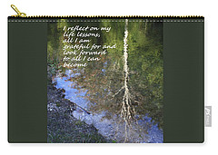 Carry-all Pouch featuring the photograph I Reflect by Patrice Zinck