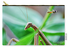 Carry-all Pouch featuring the photograph I See You by Thomas Woolworth