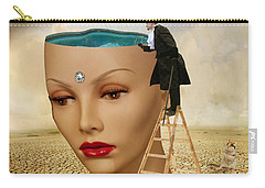 I Want To Look Inside Your Head Carry-all Pouch