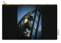 Iaff Fallen Firefighters Memorial  2 Carry-all Pouch by Susan  McMenamin