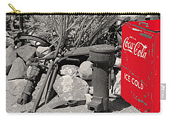 Ice Cold Drink Carry-all Pouch by Leticia Latocki