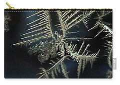 Ice Crystals Carry-all Pouch