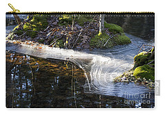 Ice In Creek Carry-all Pouch