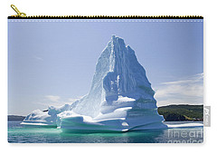 Carry-all Pouch featuring the photograph Iceberg Canada by Liz Leyden