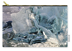 Iceberg Detail - Mendenhall Lake Carry-all Pouch
