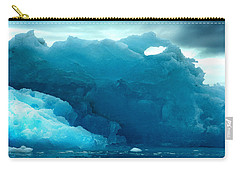 Carry-all Pouch featuring the photograph Icebergs by Amanda Stadther