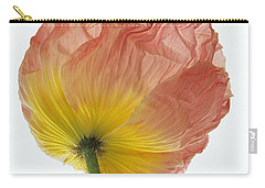 Iceland Poppy 1 Carry-all Pouch by Susan Rovira