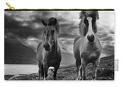 Icelandic Horses Carry-all Pouch by Frodi Brinks