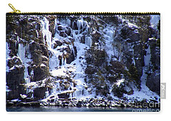 Icicle House Carry-all Pouch by Barbara Griffin
