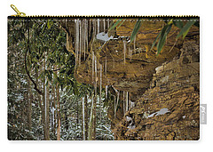 Icicles In Wv Carry-all Pouch