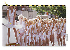 Iconic Marilyn Carry-all Pouch by Shaun Higson