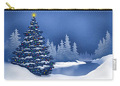Icy Blue Carry-all Pouch