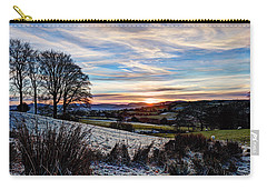 Icy Sunset Carry-all Pouch by Beverly Cash