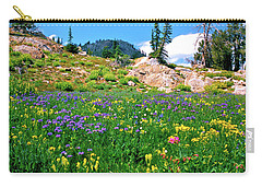 Idaho Mountain Wildflowers Carry-all Pouch