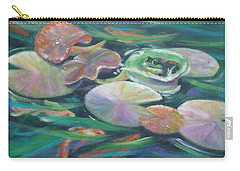 Idyllic Lilypads Carry-all Pouch
