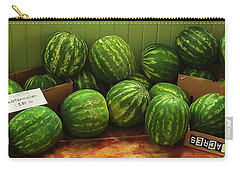 If I Had A Watermelon Carry-all Pouch by Patricia Greer