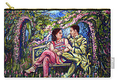 Carry-all Pouch featuring the painting If I Will Get Your Love by Harsh Malik