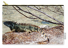 Carry-all Pouch featuring the photograph Iguana Iguana by Amar Sheow