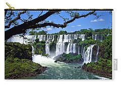 Iguazu Falls In Argentina Carry-all Pouch by Joan  Minchak