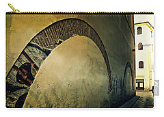 Carry-all Pouch featuring the photograph Il Muro  by Micki Findlay