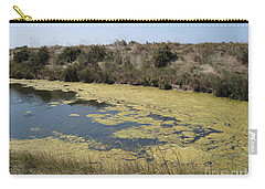 Ile De Re - Marshes Carry-all Pouch by HEVi FineArt