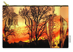 Carry-all Pouch featuring the photograph Illusion by Joyce Dickens
