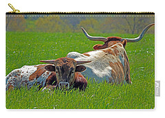 Carry-all Pouch featuring the photograph I'm Just A Baby by Lynn Sprowl