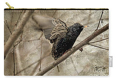 I'm Outta Here Carry-all Pouch by Lois Bryan
