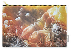 Carry-all Pouch featuring the painting Imagination 2 by Vesna Martinjak