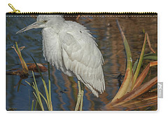 Immature Little Blue Heron Carry-all Pouch