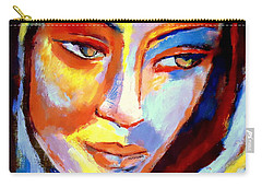 Carry-all Pouch featuring the painting Immersed by Helena Wierzbicki