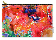 Imminent Disintegration Carry-all Pouch by Beverley Harper Tinsley