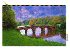 Impressions Of Stourhead Carry-all Pouch by Ron Harpham
