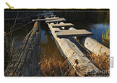 Improvised Wooden Bridge Carry-all Pouch