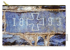 In 1893 Church Cornerstone  Carry-all Pouch