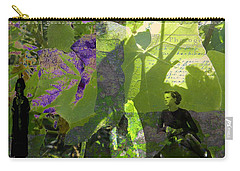 Carry-all Pouch featuring the digital art In A Dream by Cathy Anderson