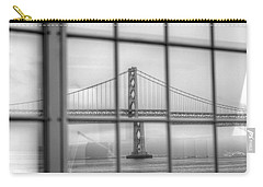 in a window the Bay Bridge Carry-all Pouch