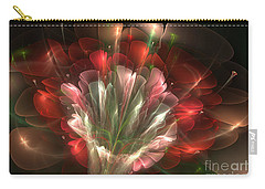 Carry-all Pouch featuring the digital art In Bloom by Svetlana Nikolova