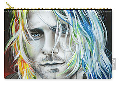 Kurt Cobain - ' In Debt For My Thirst ' Carry-all Pouch