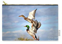 In-flight Carry-all Pouch by Deb Halloran