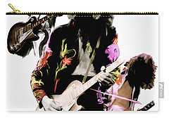 In Flight Iv Jimmy Page  Carry-all Pouch by Iconic Images Art Gallery David Pucciarelli