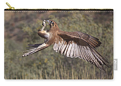 In Flight Meals Carry-all Pouch by Venetia Featherstone-Witty