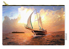 In Full Sail - Oil Painting Edition Carry-all Pouch