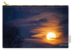 In God's Hand Carry-all Pouch by Angela J Wright