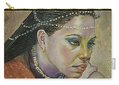 In Her Thoughts Carry-all Pouch