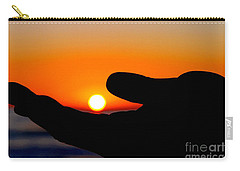 In His Hands By Diana Sainz Carry-all Pouch