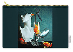 Carry-all Pouch featuring the photograph In Honor Of Karo by Elf Evans